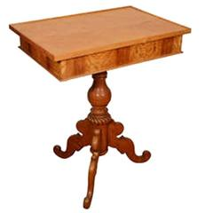Birch Biedermeier Occasional Table