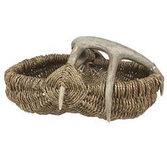 Custom Deer Antler Basket