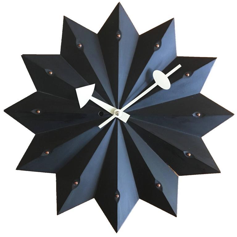 George Nelson Fan Clock for Howard Miller