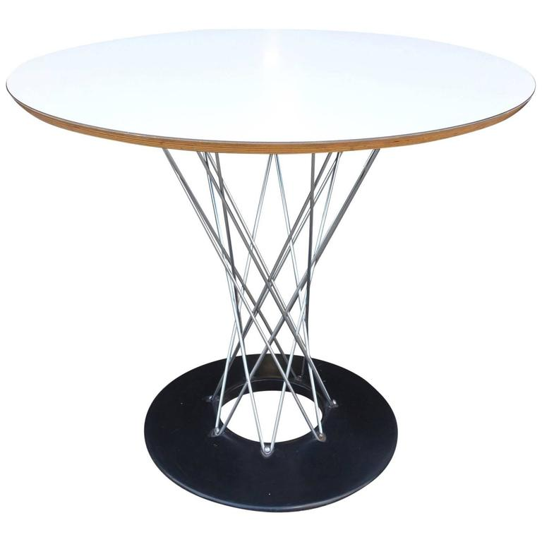 fascinating Noguchi Cyclone Part - 17: Mid-Century Isamu Noguchi Cyclone Dining Table for Knoll For Sale