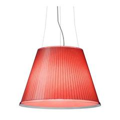 Red Choose Suspension Pendant Lamp by Matteo Thun for Artemide, Italy