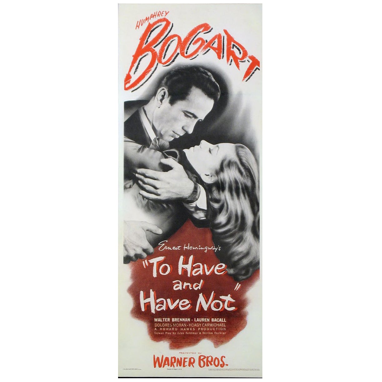 """""""To Have And Have Not"""" Film Poster, 1944"""