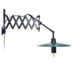 Articulated Scissor Desk Lamp