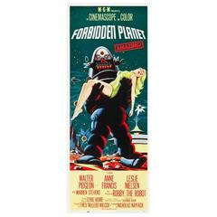 """Forbidden Planet"" Film Poster, 1956"