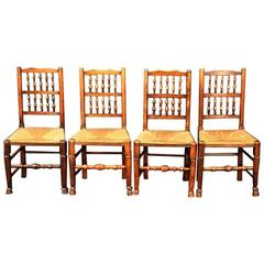 English Spindle-Back Chairs