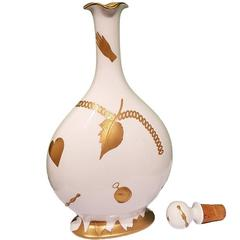 20th Century Porcelain Bottle by Gio Ponti