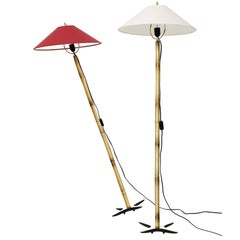 Carl Auböck X-Lamp Floor Lamp