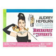 """""""Breakfast At Tiffany's"""" Film Poster, 1961, Already Framed"""