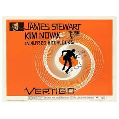 """""""Vertigo"""" Film Poster, 1958, Already Framed"""