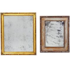 Giltwood Antiqued Mirrors