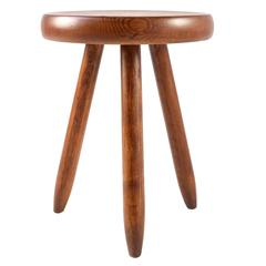 Charlotte Perriand High Tripod Stool for Steph Simon