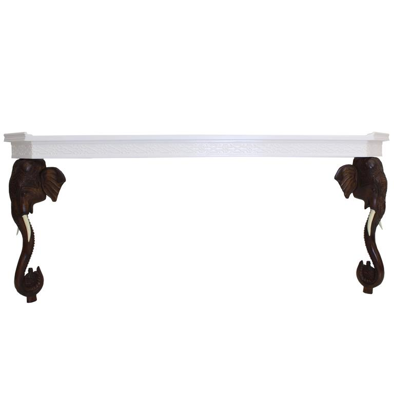 Elephant Console Table at 1stdibs