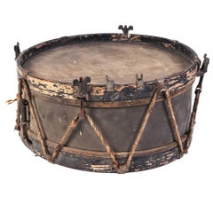 Antique French Toy Drum