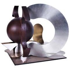 Abstract Multi-Media Sculpture