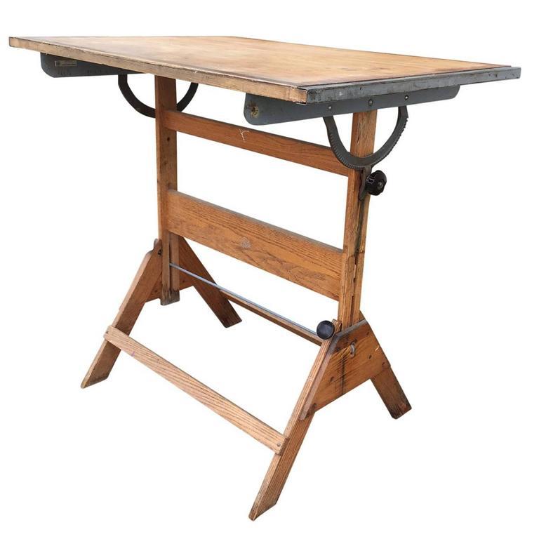 mid century anco bilt drafting table glendale new york for sale at 1stdibs