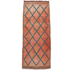 Boho Chic Vintage Berber Moroccan Rug with Modern Tribal Style, Gallery Rug