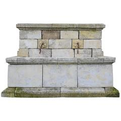Provencal Style Wall Fountain, 19th Century