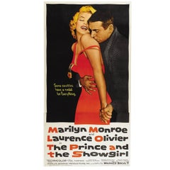 """""""The Prince And The Showgirl"""" Film Poster, 1957"""