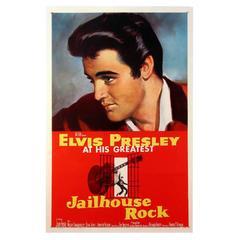 """Jailhouse Rock"" Film Poster, 1957"