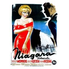 """Niagara"" Film Poster, 1953"
