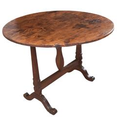 French 19th Century Vendange Table
