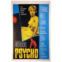 """Psycho"" Film Poster, 1960"