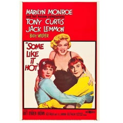 """""""Some Like It Hot"""" Film Poster, 1959"""
