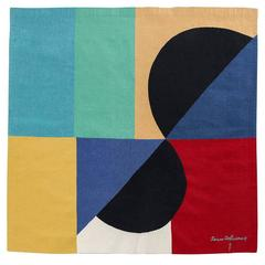 "Sonia Delaunay ""Nocturne Matinale II"" Tapestry"