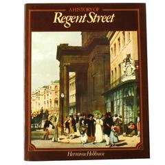 History of Regent Street by Hermoine Hobhouse, First Edition