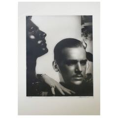 Douglas Fairbanks Jr. Silver Gelatin Portrait by George Hurrell, Limited Edition