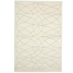 Exquisite 'Akana' White Rug