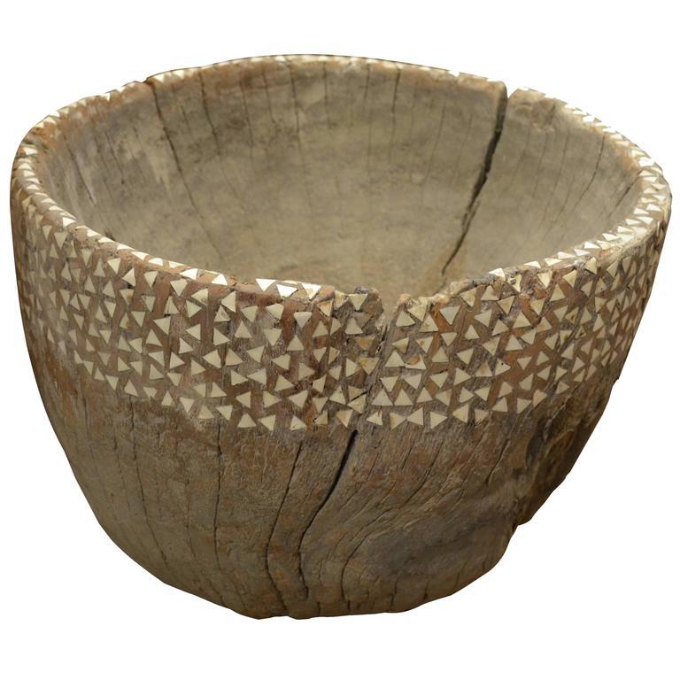 Original Teak Wood Furniture: Original Teak Wood Rice Pounder For Sale At 1stdibs