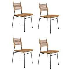 Set of Four Vintage Mid-Century Paul McCobb Dining Chairs