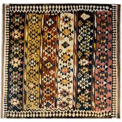 Amazing Early 20th Century Shahsavan Kilim Rug