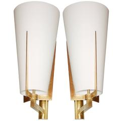 Pair of Italian Cone Sconces