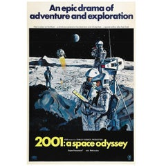 """""""2001: a Space Odyssey"""", Poster, 1968"""