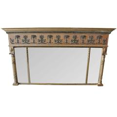 Antique Regency Overmantel Mirror