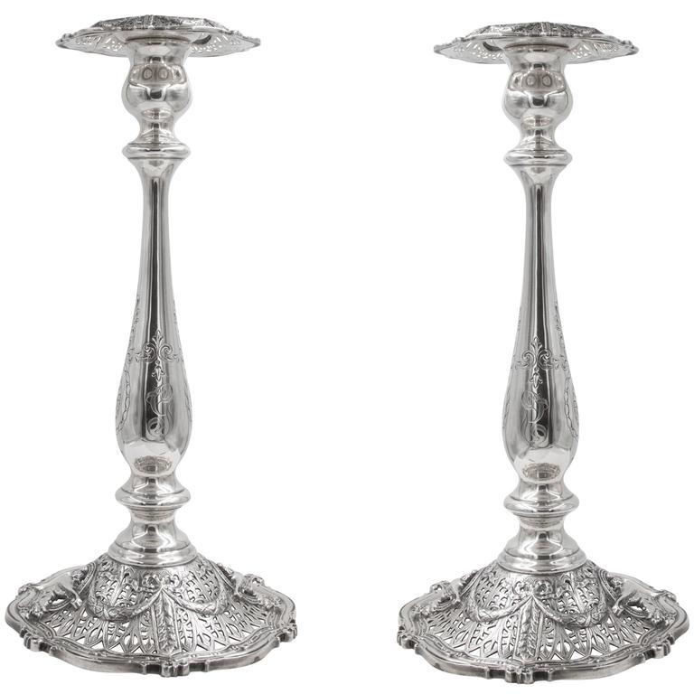 Tall Shreveport & Co Candlesticks