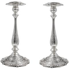 Tall Shreveport & Co Candlesticks