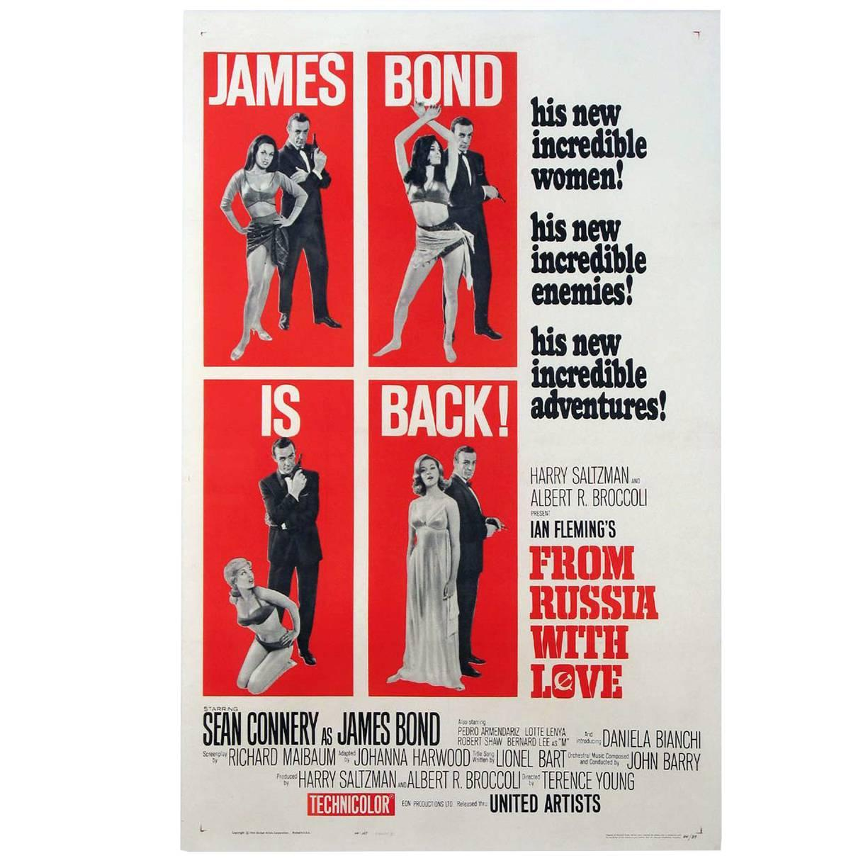 """""""From Russia with Love"""" Poster, 1964"""
