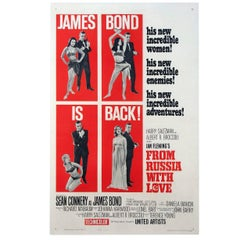 """From Russia with Love"" Poster, 1964"