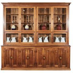 Large French Pharmacy Cabinet