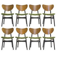 Set of Eight Vintage G Plan Butterfly Dining Chairs