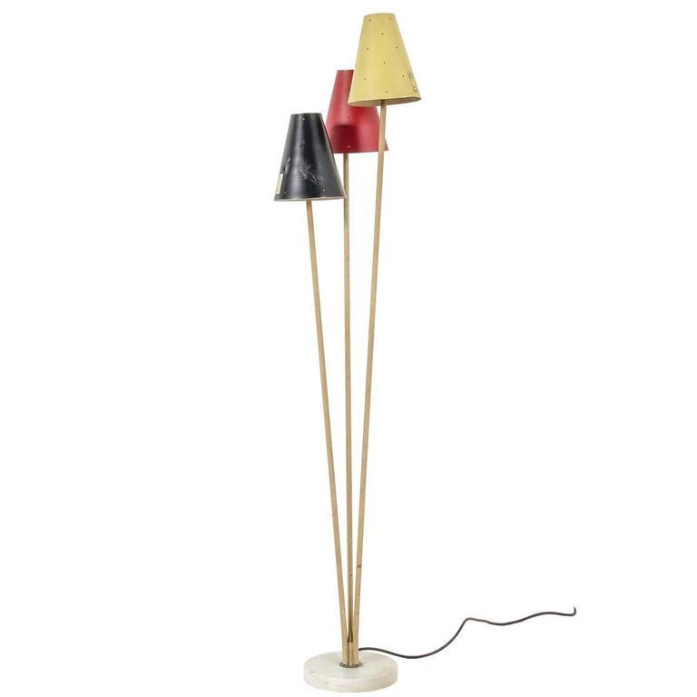 Stilux Floor Lamp, Italy, 1950s