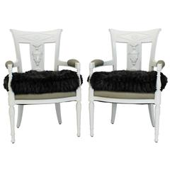 New Classical Lacquered Chairs