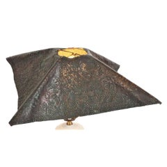 Vintage Art and Crafts Pierced Shade