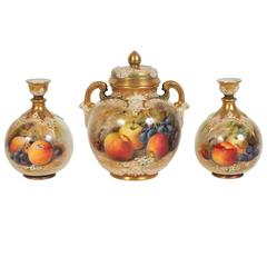 Royal Worcester Group Painted by William Ricketts