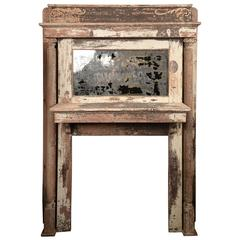 Distressed Victorian Mantle