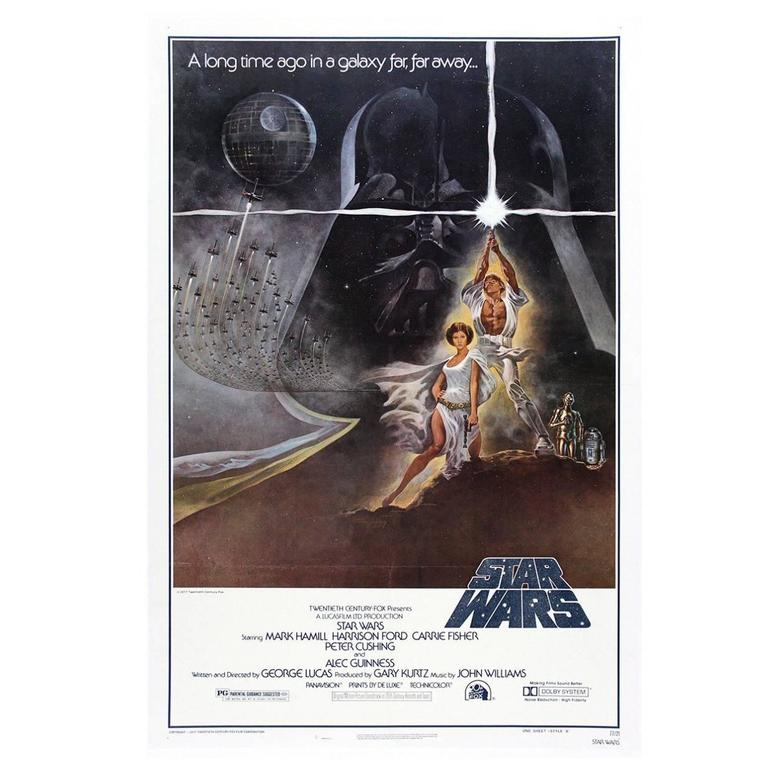 """""""Star Wars"""" Poster, 1977 For Sale"""