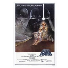 """Star Wars"" Poster, 1977"